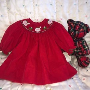 NEW Edgehill Collection Girls Christmas Plaid Dress Size 2T FREE Shipping